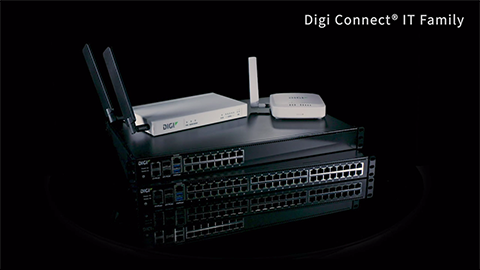 Digi Connect IT-Konsolenserver