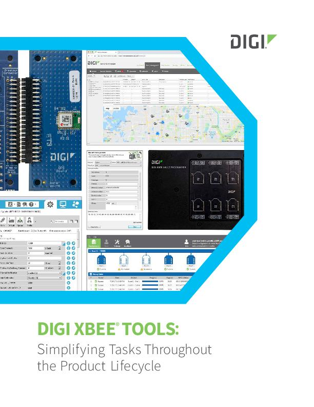 Digi XBee Tools Datenblatt