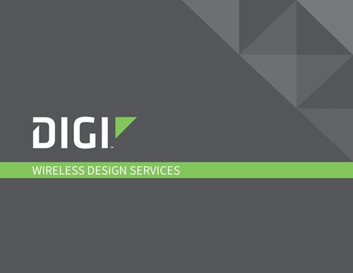 Broschüre zu Wireless Design Services
