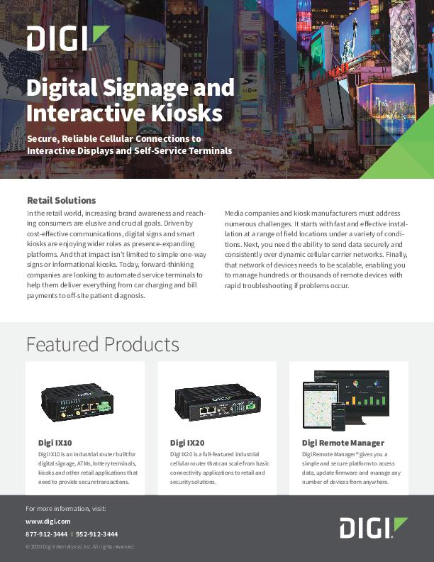 Digital Signage & Interaktive Kioske