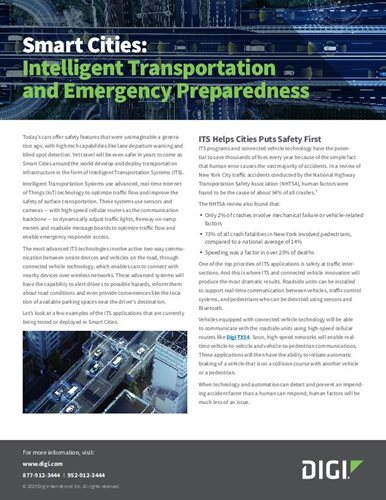 Smart Cities: Intelligenter Transport und Notfallvorsorge
